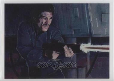 1996 Topps Finest Star Wars - [Base] #9 - Lando Calrissian