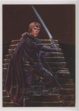 1996 Topps Finest Star Wars - Embossed Foil #F2 - Luke Skywalker