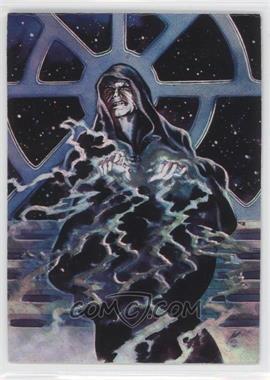 1996 Topps Finest Star Wars - Matrix #3 - Emperor Palpatine