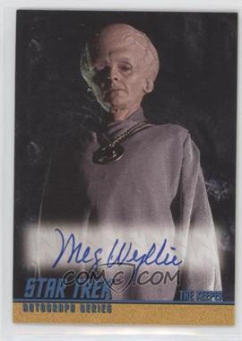 1997 Skybox Star Trek: The Original Series Season 1 - Autographs #A22 - Meg Wyllie as The Keeper