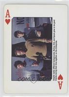 Dr. McCoy, Captain Kirk, Spock