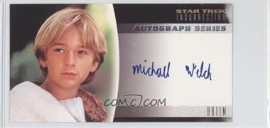 1998 Skybox Star Trek Insurrection - Autographs #A-16 - Michael Welch as Artim