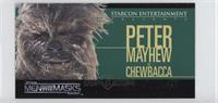 Star Wars Men Behind the Masks - Peter Mayhew as Chewbacca