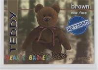Retired - Teddy the Brown Bear