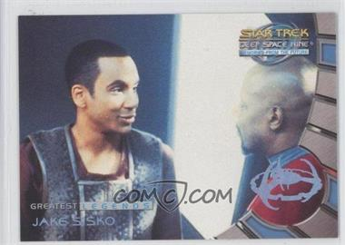 1999 Skybox Star Trek Deep Space Nine: Memories from the Future - [???] #L9 - Jake Sisko