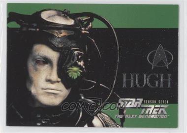 1999 Skybox Star Trek the Next Generation Season 7 - Foil Embossed #S42 - Hugh