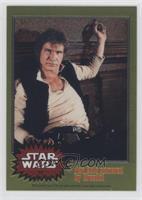 Han Solo cornered by Greedo