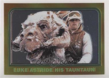 1999 Topps Star Wars Chrome Archives - [Base] #31 - Luke Astride His Tauntaun