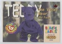 Teddy the Violet Bear