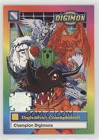 Digivolve! Champions!! (Special Stamp)