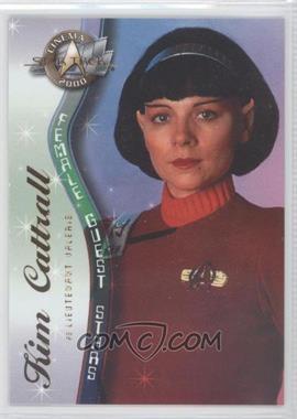 2000 Skybox Star Trek: Cinema 2000 - Female Guest Stars #F6 - Kim Cattrall as Valeris