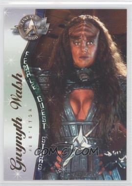 2000 Skybox Star Trek: Cinema 2000 - Female Guest Stars #F7 - Gwynyth Walsh as B' Etor