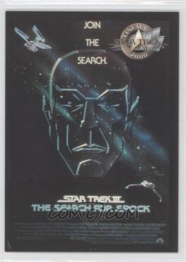 2000 Skybox Star Trek: Cinema 2000 - Posters #P3 - Star Trek III: The Search for Spock