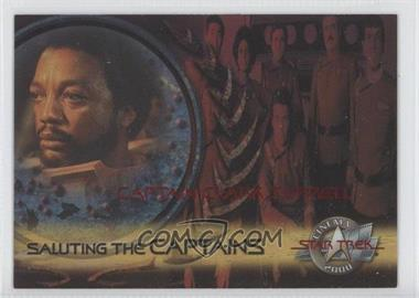 2000 Skybox Star Trek: Cinema 2000 - Saluting the Captains #SC3 - Captain Clark Terrell
