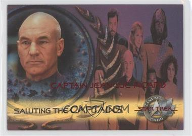 2000 Skybox Star Trek: Cinema 2000 - Saluting the Captains #SC7 - Captain Jean-Luc Picard