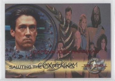 2000 Skybox Star Trek: Cinema 2000 - Saluting the Captains #SC8 - Captain John Harriman