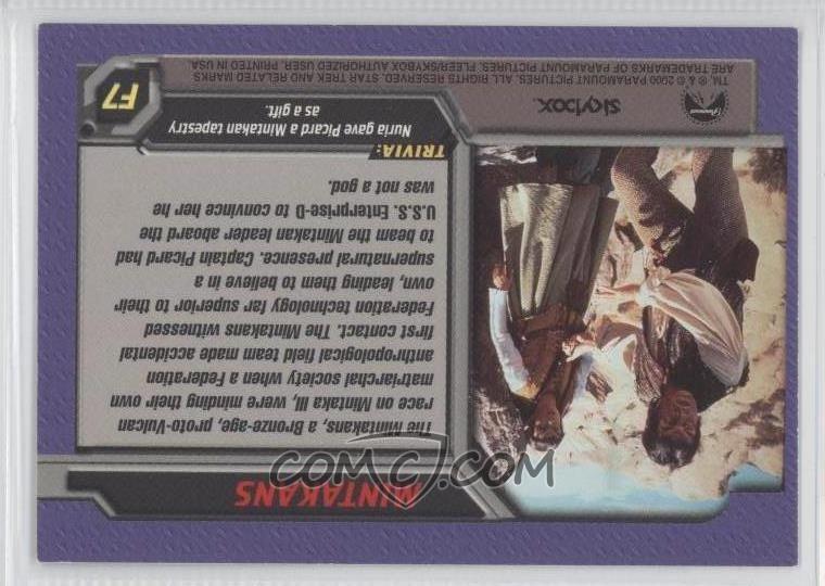 2000 Skybox Star Trek: The Next Generation Profiles - First