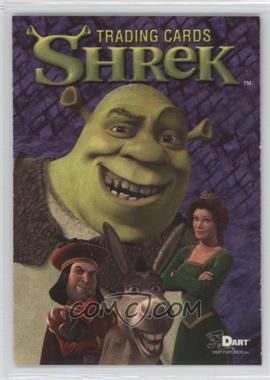 2001 dart shrek promos non shrek toronto sportscard expo