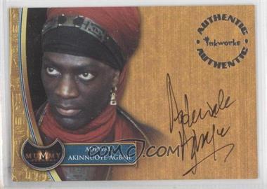 2001 Inkworks The Mummy Returns - Autographs #A5 - Adewale Akinnuoye-Agbaje as Lock-Nah