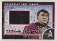 Romulan Commander [EXtoNM]