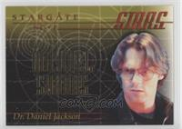Michael Shanks as Dr. Daniel Jackson