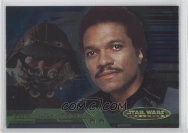 2001 Topps Star Wars: Evolution - [Base] #4B - Lando Calrissian