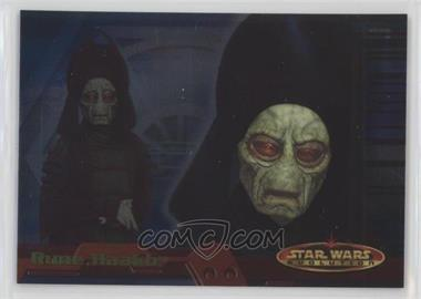 2001 Topps Star Wars: Evolution - [Base] #69 - Rune Haako