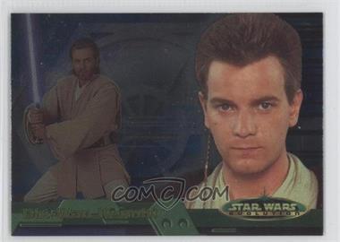 2001 Topps Star Wars: Evolution - [Base] #6B - Obi-Wan Kenobi