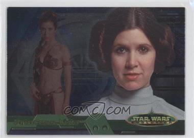 2001 Topps Star Wars: Evolution - [Base] #8B - Princess Leia