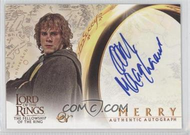 2001 Topps The Lord of the Rings: The Fellowship of the Ring - Autographs #DOMO - Dominic Monaghan as Merry