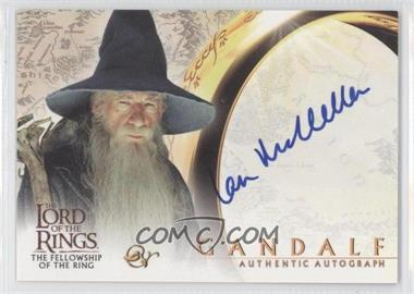2001 Topps The Lord of the Rings: The Fellowship of the Ring - Autographs #N/A - Sir Ian McKellen as Gandalf