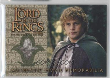 2001 Topps The Lord of the Rings: The Fellowship of the Ring - Movie Memorabilia #N/A - Sam's Travel Waistcoat