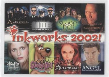 2002 Inkworks Set Preview Card - [Base] #N/A - [Missing]
