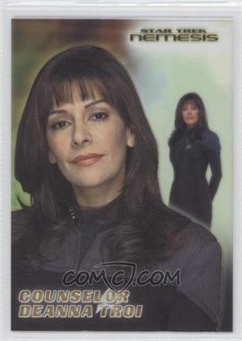 2002 Rittenhouse Star Trek: Nemesis - Casting Call Cel Cards #CC3 - Counselor Deanna Troi