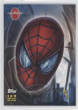 2002 Topps Spider-Man: The Movie - Glow-in-the-Dark Stickers #5 - Spider-Man