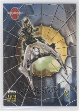 2002 Topps Spider-Man: The Movie - Glow-in-the-Dark Stickers #7 - Green Goblin