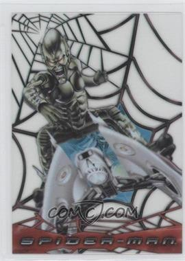 2002 Topps Spider-Man: The Movie - Web-Shooter Clear Cards #C5 - Green Goblin