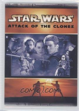 2002 Topps Star Wars: Attack of the Clones - Panoramic Fold-Out #3 - Light Side