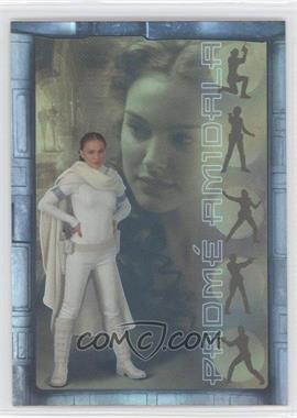 2002 Topps Star Wars: Attack of the Clones - Prismatic Foil #5 - Padme Amidala