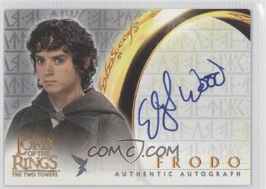 2002 Topps The Lord of the Rings The Two Towers - Autographs #ELWO - Elijah Wood as Frodo