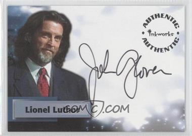 2003 Inkworks Smallville Season 2 - Authentic Autographs #A11 - John Glover as Lionel Luthor