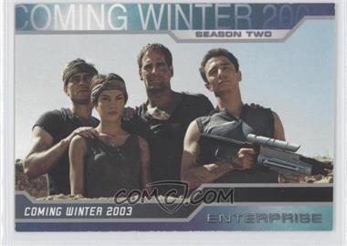 2003 Rittenhouse Star Trek: Enterprise Season 2 - Promos #P1 - [Missing]
