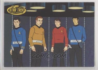 2003 Rittenhouse The Complete Star Trek: Animated Adventures - Promos #P2 - Enterprise Crew [EX to NM]