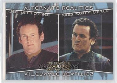 2003 Rittenhouse The Complete Star Trek: Deep Space Nine - Alternate Realities #AR3 - Chief Miles O'Brien