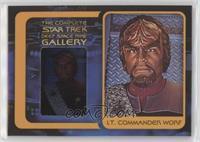 Michael Dorn as Lt. Commander Worf