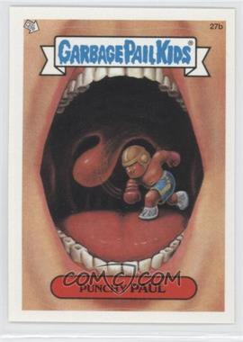 2003 Topps Garbage Pail Kids All-New Series 1 - [Base] #27b - Punchy Paul