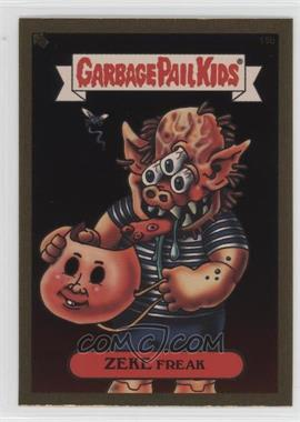2003 Topps Garbage Pail Kids All-New Series 1 - Foil Stickers - Gold #15b - Zeke Freak
