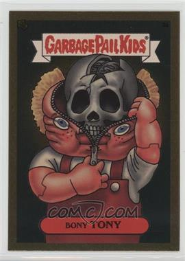 2003 Topps Garbage Pail Kids All-New Series 1 - Foil Stickers - Gold #3a - Bony Tony