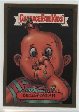 2003 Topps Garbage Pail Kids All-New Series 1 - Foil Stickers - Gold #9b - Drillin' Dylan