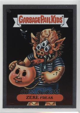 2003 Topps Garbage Pail Kids All-New Series 1 - Foil Stickers - Silver #15b - Zeke Freak